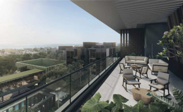 Kent Ridge Hill Residences Balcony Singapore