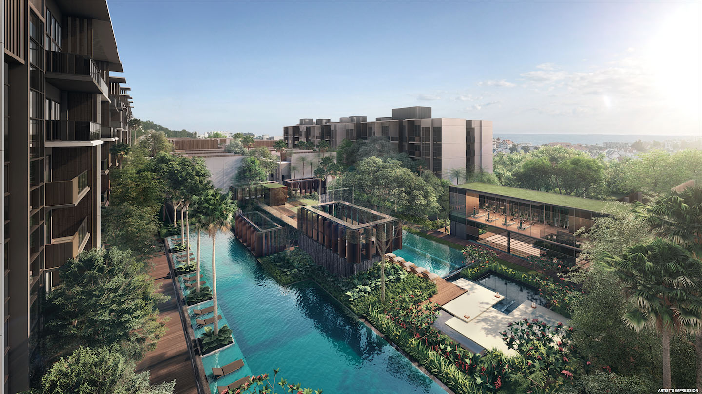Kent Ridge Hill Residences Pool Singapore