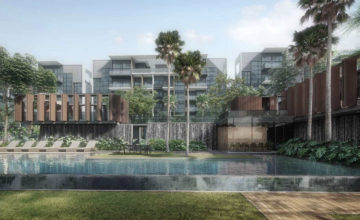 Kent Ridge Hill Residences Waterfall Canyon Singapore
